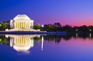 Thomas Jefferson Memorial a Washington DC, Stati Uniti d'America foto