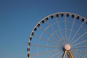 ruota panoramica di Seattle foto