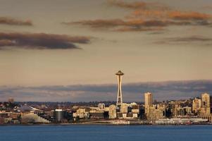 lungomare di Seattle foto