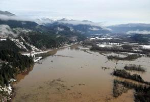 inondazione dello stato di Washington foto
