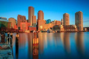 la gloria d'oro di Boston foto