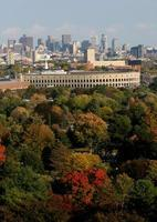 lo stadio di Harvard in autunno foto