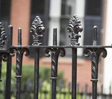 recinzione in ferro battuto foto