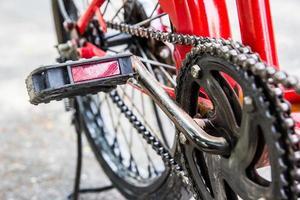 bicicletta nel parco