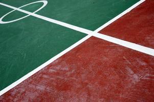 campo da badminton foto