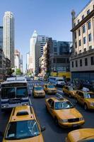 stati uniti d'america - new york - new york, taxi foto