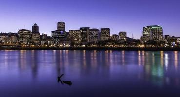skyline di Portland foto