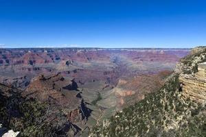 colorado grand canyon, da south rim, arizona foto