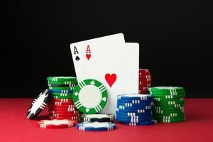 assi di poker foto