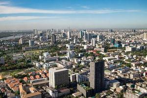 skyline di bangkok foto