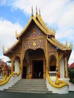 religione asiatica del tempio della cultura della Tailandia foto