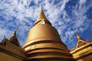 Tempio Tailandia di Wat Phra Kaeo Bangkok foto