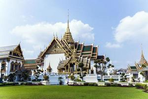 phra tinang aporn phimok prasat pavillion nel grande palazzo foto