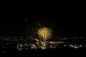 fuochi d'artificio della Tailandia