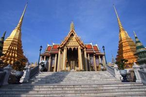 grande palazzo tradizionale Bangkok di architettura tailandese foto