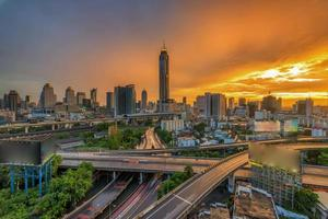città di bangkok foto