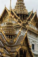Tempio Bangkok Tailandia di Wat Phra Kaeo foto