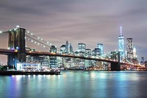 ponte di Brooklyn a New York foto