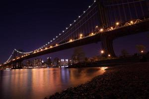 ponte di Manhattan foto