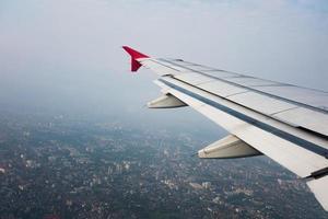 Bangkok, Tailandia vista a volo d'uccello foto