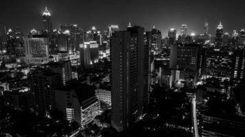 viste della città di Bangkok foto