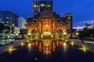 padiglione in stile tailandese foto