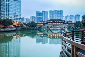 scenario di Chengdu foto