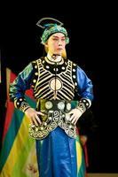 clown dell'opera cinese foto