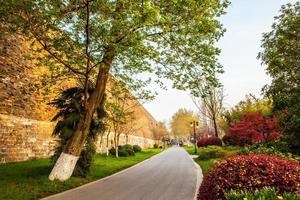 mura della dinastia ming a Nanchino foto