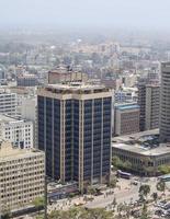Vista aerea di Nairobi, in Kenya foto