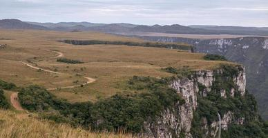 canyon fortaleza in brasile foto