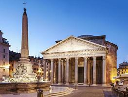 pantheon, roma foto
