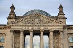 Cupola del Reichstag, Berlino, Germania foto