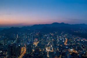 tramonto di Seoul