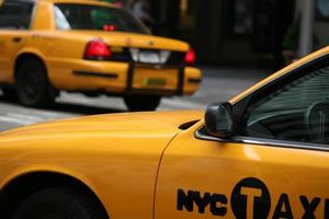 taxi new york i foto