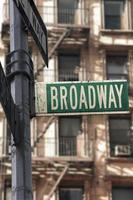 segno di Broadway foto