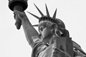 statua della Libertà foto