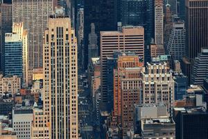 grattacieli di New York City foto
