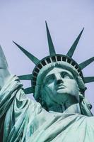 statua della libertà, new york foto