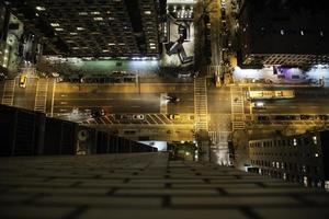 vista sul tetto di New York foto