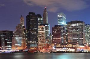 skyline della città urbana