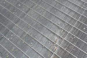 griglia metallica foto