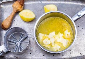 la cagliata di limone foto