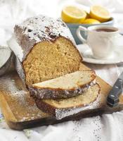 Pound Cake al Limone foto
