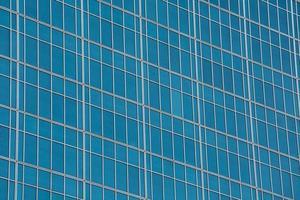 parete di vetro del grattacielo foto