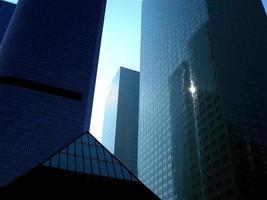 edifici della città di Los Angeles foto