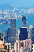 vista aerea di Hong Kong
