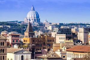 paesaggio urbano di roma foto