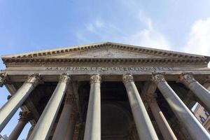 Pantheon a Roma. foto