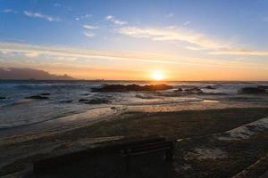 spiaggia di Cape Town foto